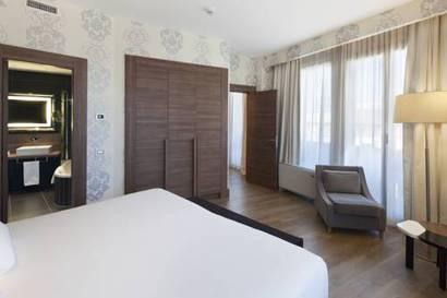 Junior suite  del hotel NH Collection Milano President. Foto 1
