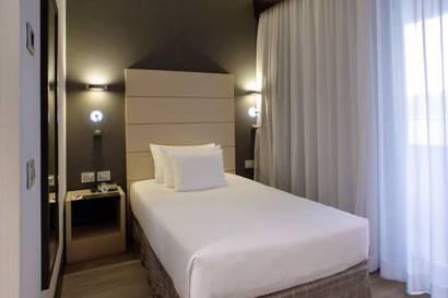 Habitación individual Superior del hotel NH Collection Milano President