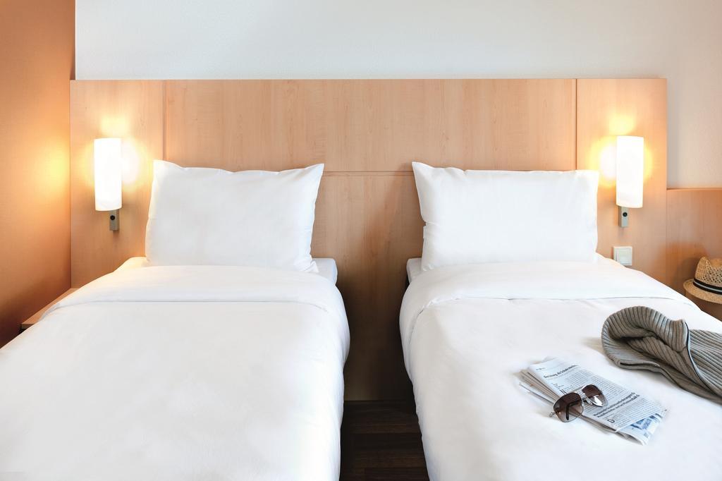 Habitación individual  del hotel Ibis Milano Centro
