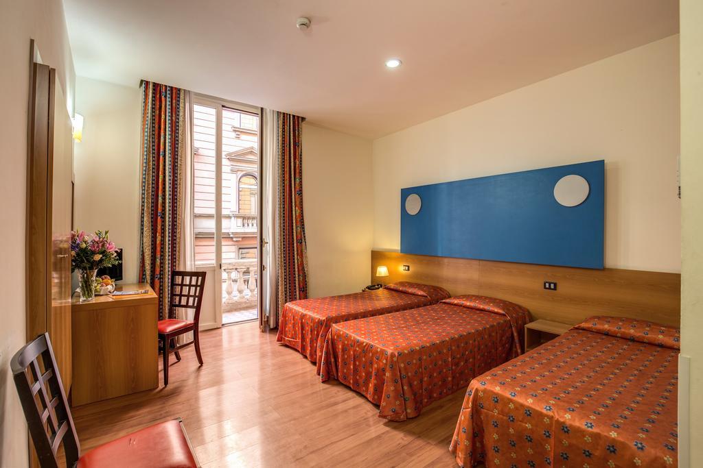Habitación triple  del hotel San Remo