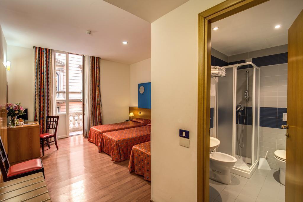 Habitación cuadruple  del hotel San Remo