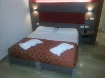 Habitación doble  del hotel Center 1-2