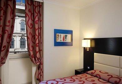 Habitación individual  del hotel Anglo Americano