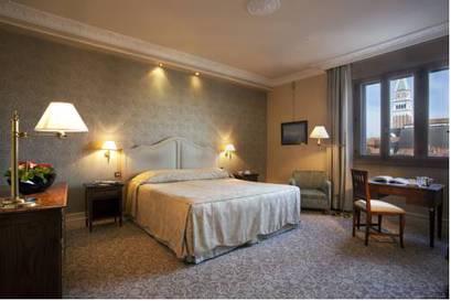 Deluxe room del hotel Bauer Palazzo