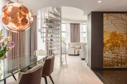 Suite Terraza Presidencial del hotel NH Amsterdam Grand Hotel Krasnapolsky