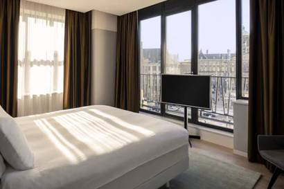 Suite Presidencial del hotel NH Amsterdam Grand Hotel Krasnapolsky