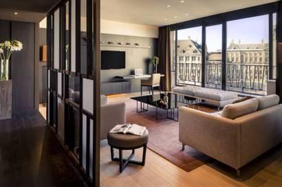 Suite Presidencial del hotel NH Amsterdam Grand Hotel Krasnapolsky. Foto 1