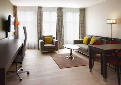 Apartamento 1 dormitorio  del hotel NH Amsterdam Grand Hotel Krasnapolsky. Foto 1