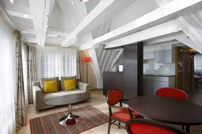Apartamento 1 dormitorio  del hotel NH Amsterdam Grand Hotel Krasnapolsky. Foto 2