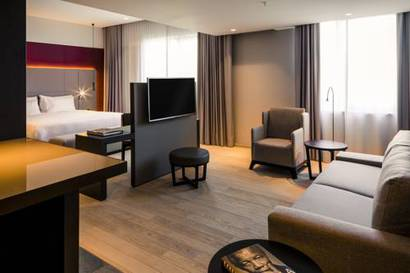 Suite  del hotel NH Amsterdam Grand Hotel Krasnapolsky