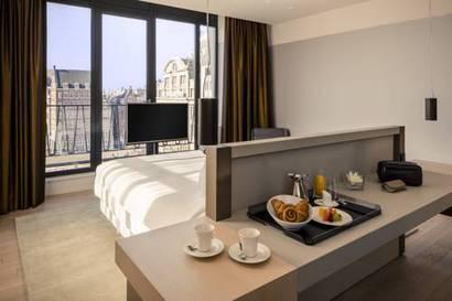 Suite Vista ciudad del hotel NH Amsterdam Grand Hotel Krasnapolsky