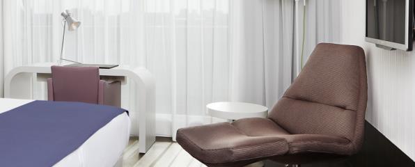 Habitación individual Superior del hotel NH Amsterdam Grand Hotel Krasnapolsky