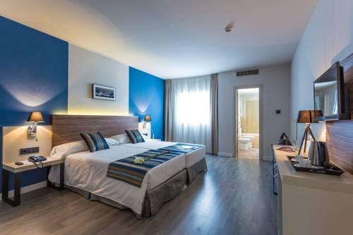 Habitación doble Superior dos camas separadas del hotel Urban Dream Granada