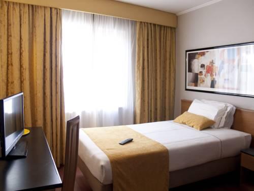Habitación individual  del hotel 3k Madrid