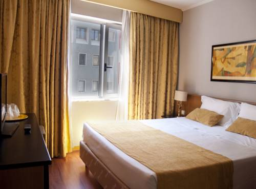 Habitación doble  del hotel 3k Madrid. Foto 1