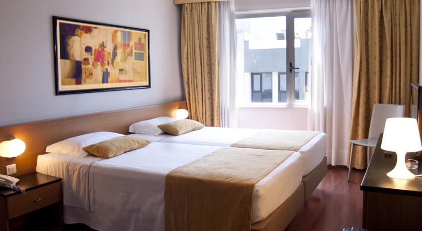 Habitación doble dos camas separadas del hotel 3k Madrid