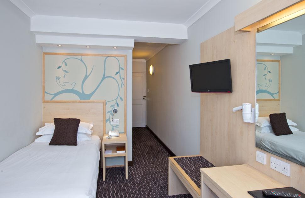Habitación individual  del hotel Bedford