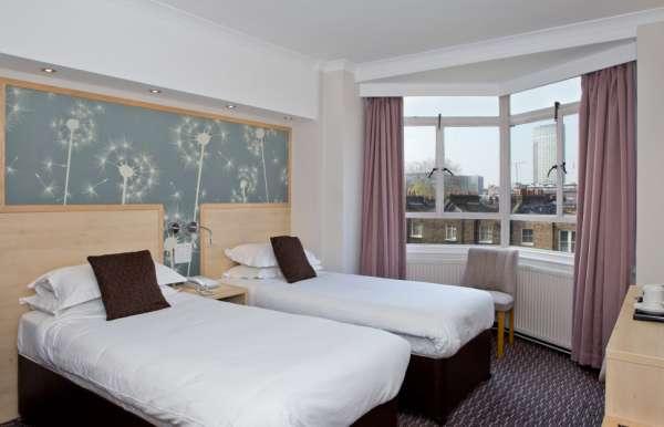 Habitación doble dos camas separadas del hotel Bedford