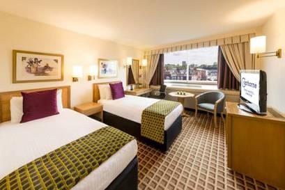 Habitación doble Club dos camas separadas del hotel Copthorne Tara Hotel London Kensington