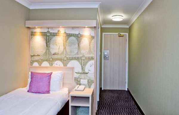 Habitación individual  del hotel President