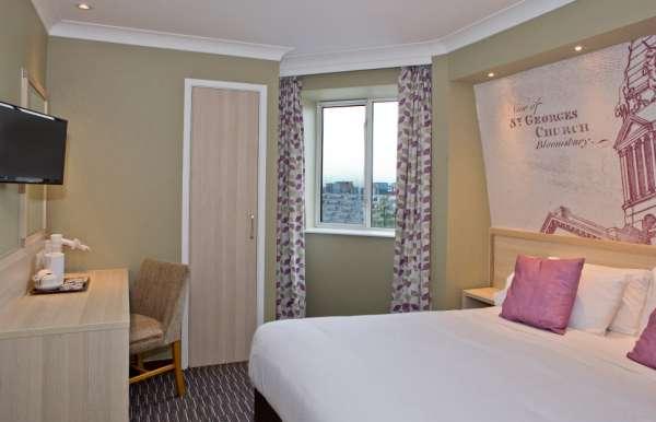 Habitación doble  del hotel President