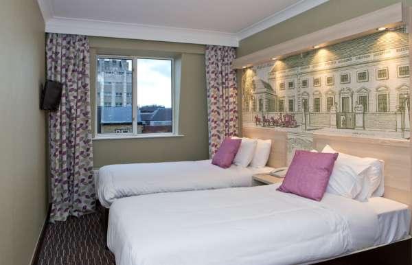 Habitación doble dos camas separadas del hotel President