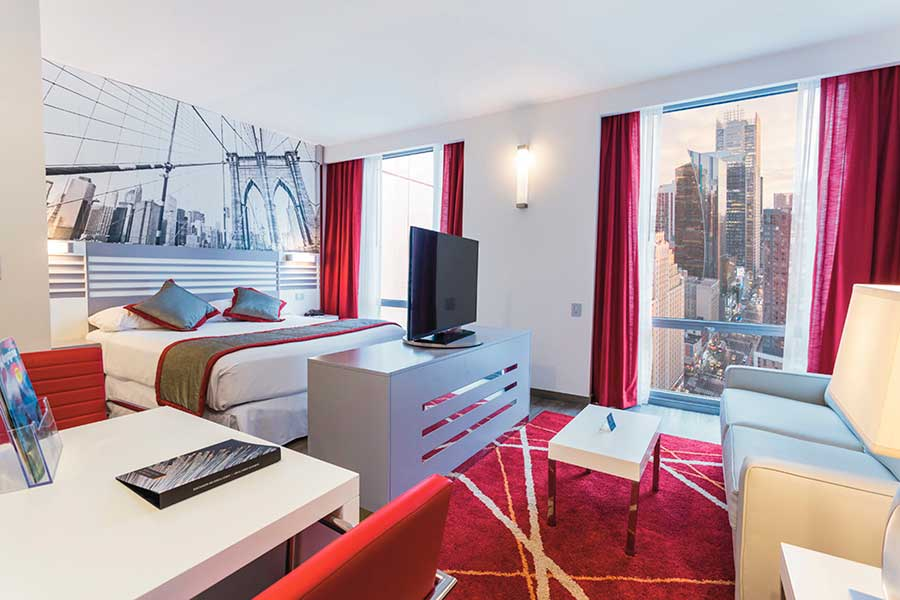 Junior suite  del hotel Riu Plaza New York Times Square