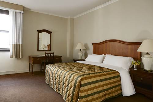 Habitación Doble Penn 5000 king bed del hotel Pennsylvania