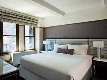 Classic Room del hotel Park Central New York. Foto 2