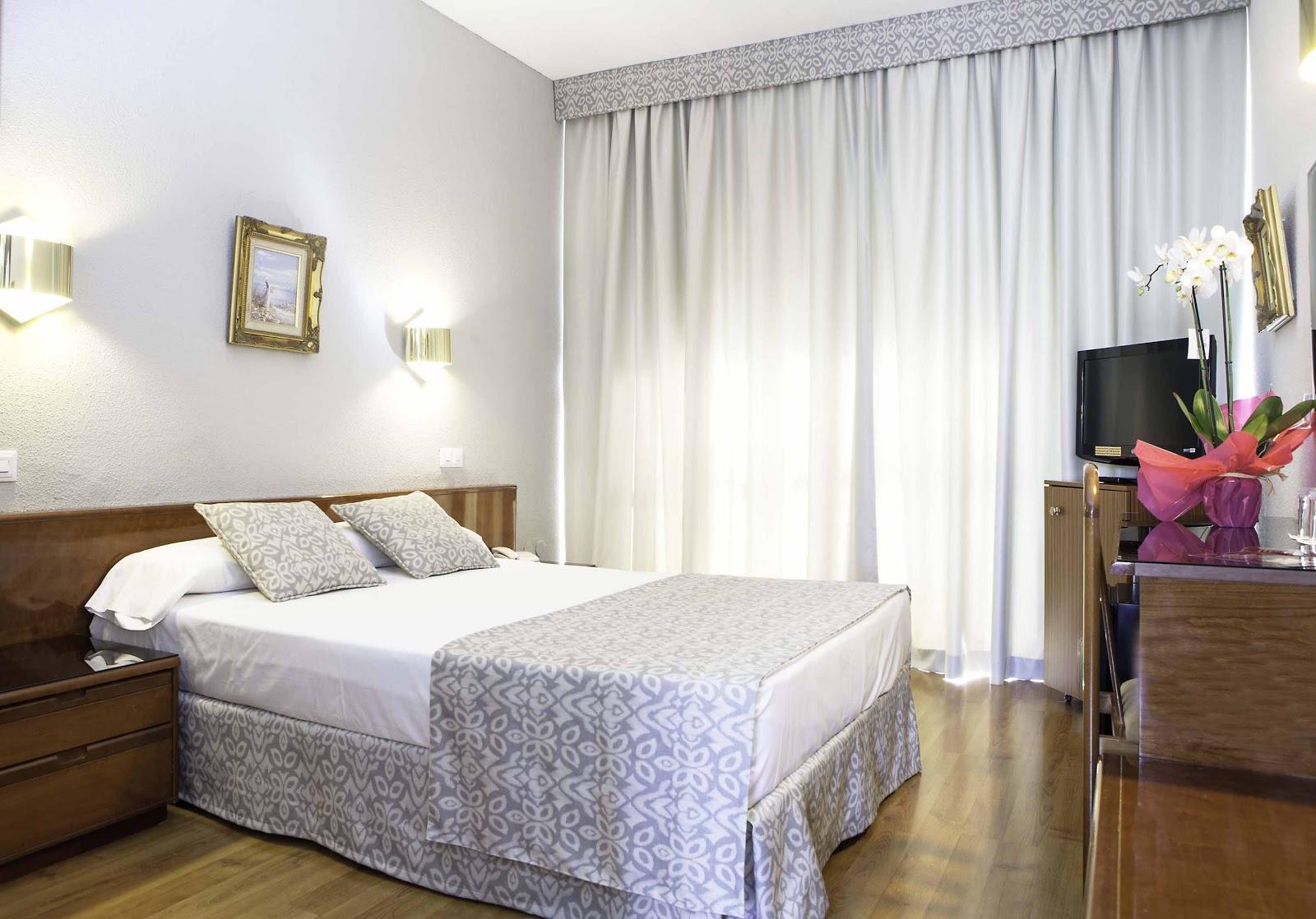 Habitación doble  del hotel Soho Bahia Malaga