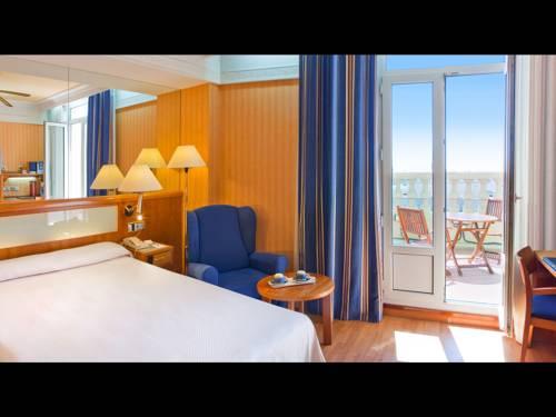 Habitación Terraza del hotel Senator Gran Via 70