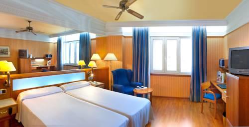 Habitación doble dos camas separadas del hotel Senator Gran Via 70