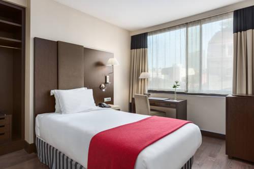 Habitación individual  del hotel NH Brussels Louise