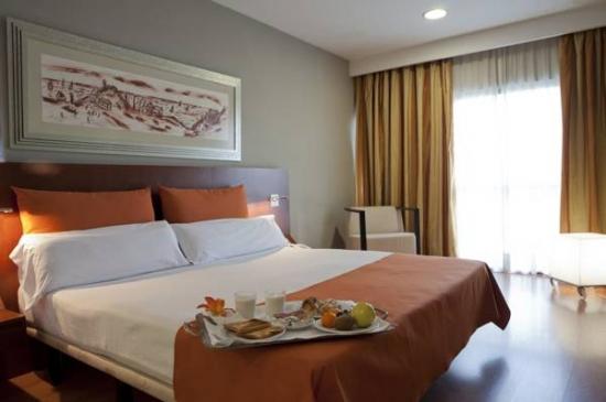 Habitación doble  del hotel Eurohotel Barcelona Gran Via Fira. Foto 1