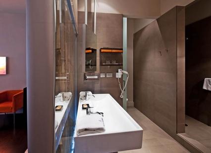 Habitación doble dos camas separadas del hotel Fira Congress
