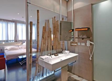 Habitación doble  del hotel Fira Congress. Foto 1
