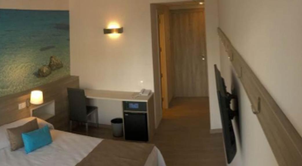 Habitación individual  del hotel Ohtels Roquetas