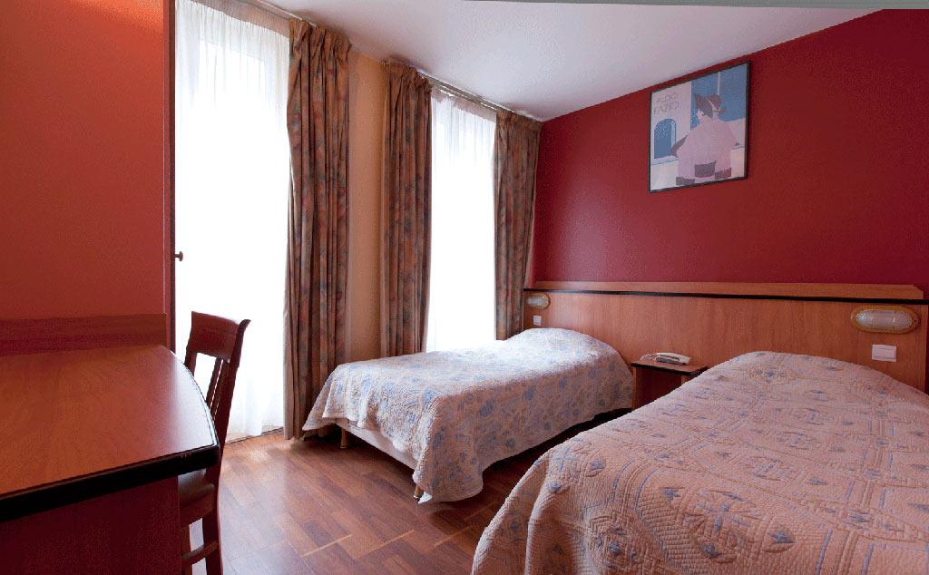 Habitación doble dos camas separadas del hotel Hibiscus