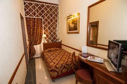 Habitación individual  del hotel Palladium Palace
