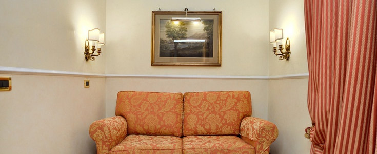 Suite  del hotel Palladium Palace