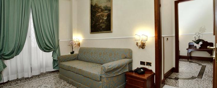 Junior suite  del hotel Palladium Palace. Foto 2
