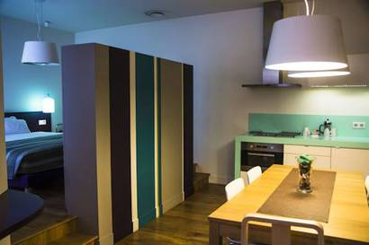 Suite  del hotel Magenta 38 by HappyCulture. Foto 1