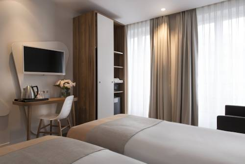 Habitación doble Premium dos camas separadas del hotel Magenta 38 by HappyCulture