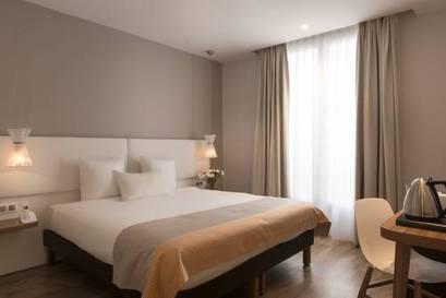 Habitación doble Premium del hotel Magenta 38 by HappyCulture. Foto 1