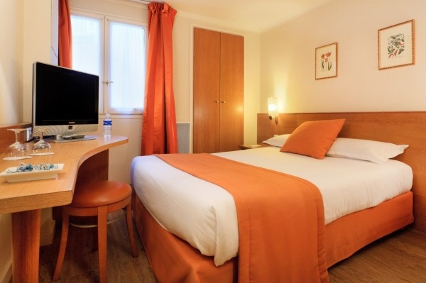 Single room del hotel Axel Opéra by Happyculture