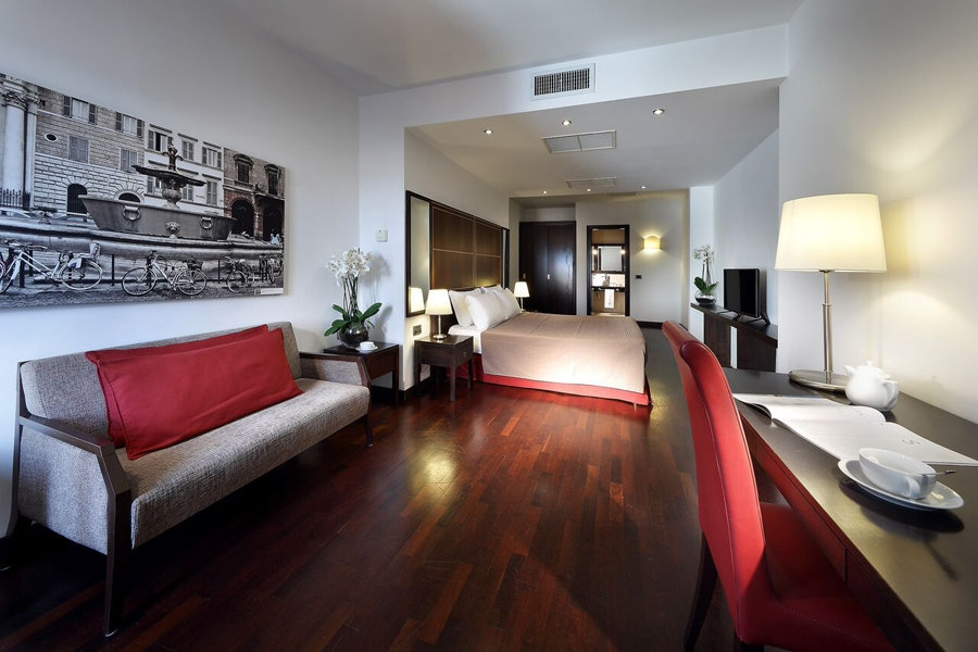 Family Suite with 2 bathrooms del hotel Exe International Palace