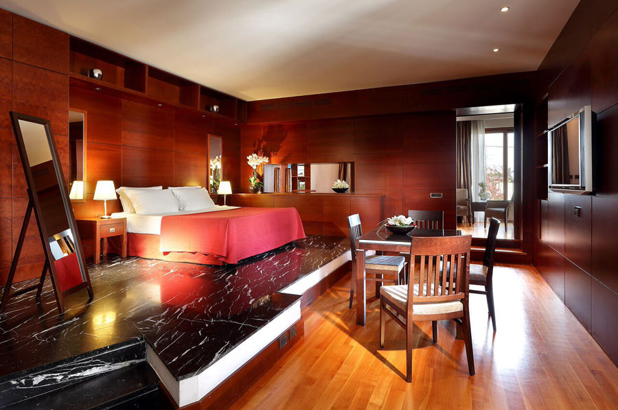 Family Suite with terrace del hotel Exe International Palace