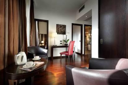 Junior suite  del hotel Exe International Palace