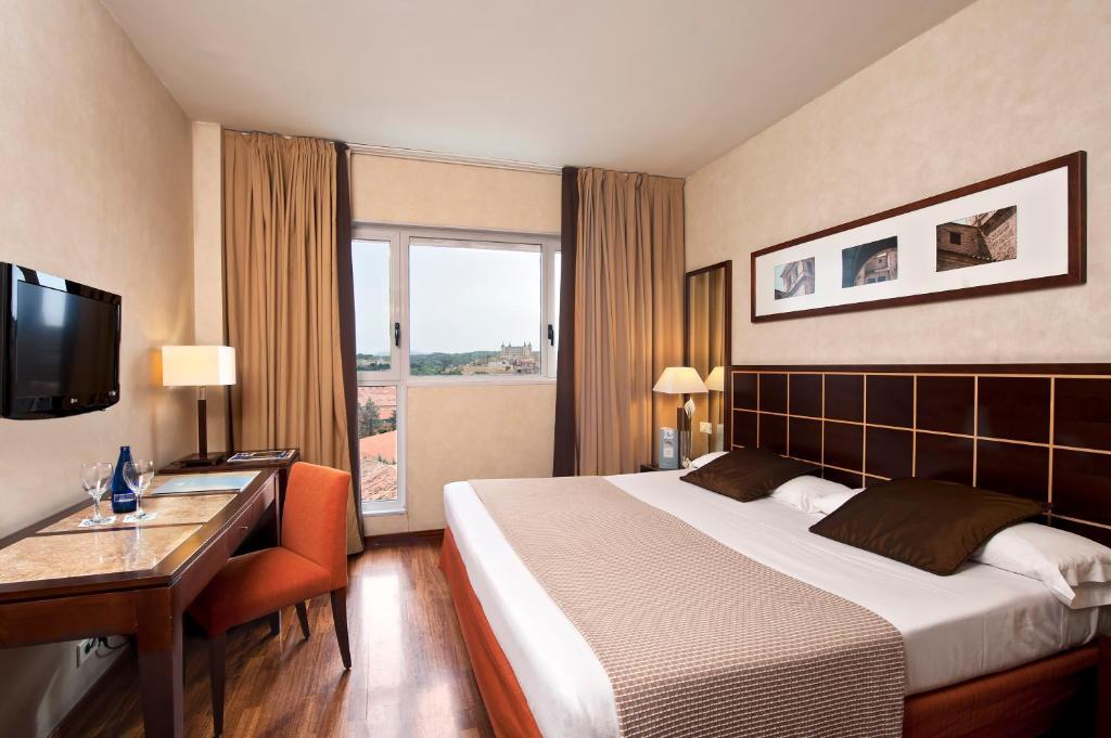 Habitación doble  del hotel Eurostars Toledo