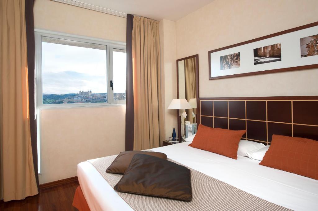 Habitación individual Ejecutiva del hotel Eurostars Toledo